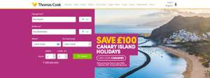 £100 OFF Canary Island holidays @ Thomas Cook