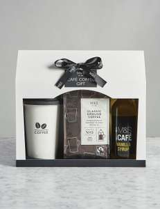 M&S Coffee GIFT SET half price £5 @ M&S (+ £3.50 Delivery)