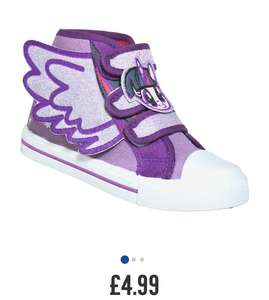 Cute my little pony Twilight hi tops infant size 8 or 9 £4.99 C+C from Argos