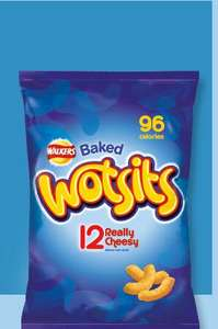 Cheezy Dibbles - Walkers wotsits - 12 Packs for £1.50 @ ASDA