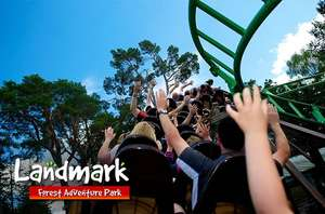 2 Tickets to Landmark Adventure Park (near Aviemore) for £19 instead of £40 @ Itison