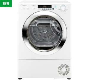 Candy 9kg Heat Pump Tumble Dryer GVS H9A2DCE - £303.20 at Tesco Direct with discount code