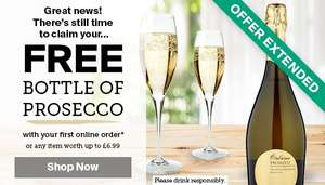 Free Prosecco Worth £6.99 with First Iceland Order Online Quoting FIRST699 or £6.99 Deducted from Total If No Prosecco added to list. Free Delivery over £35.