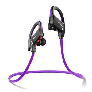 Bluetooth Headphones Sports Headset - Noise Cancelling, 8 Hrs Playing Time £3.30 Prime / £7.29 non Prime (Sold by Urant-Store and Fulfilled by Amazon)