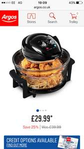 Tower Airwave Low Fat Health Fryer Free C&C - £29.99 @ Argos