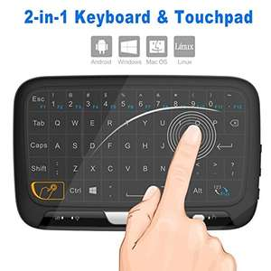 H18 Full Touchpad Mini Wireless Keyboard Air Mouse £7.94 @  Geekbuying.com