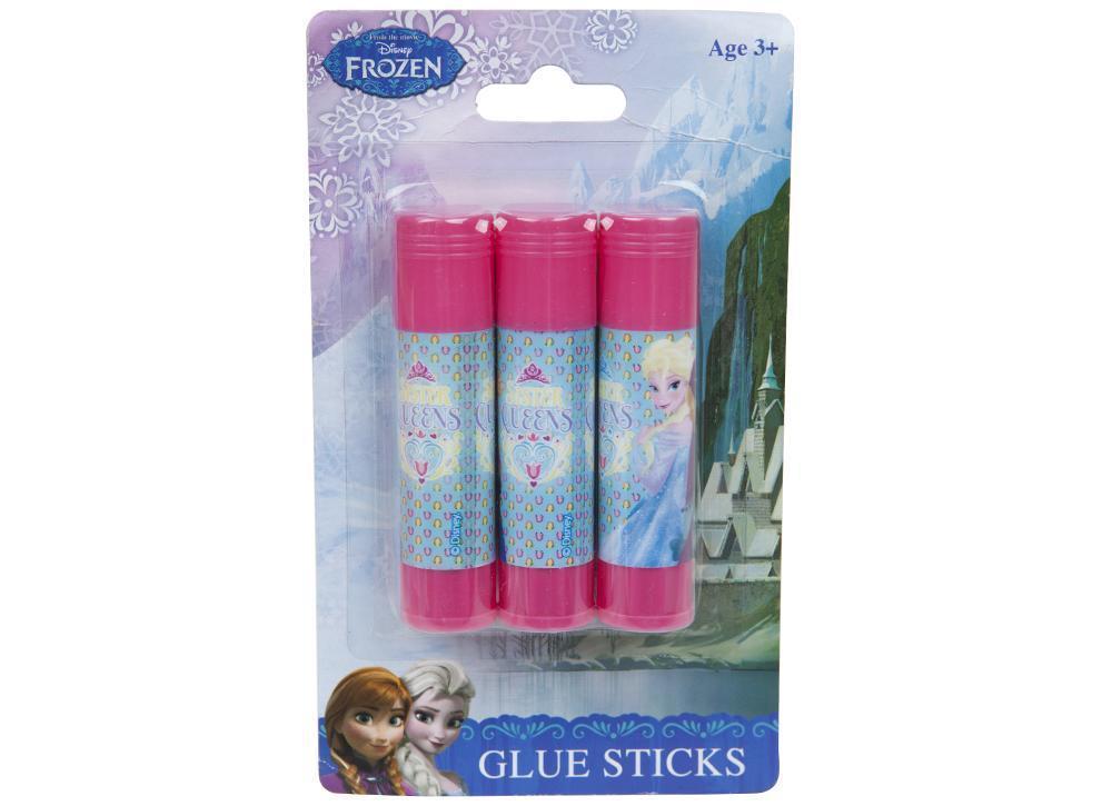 3 x Official Disney Frozen Glue Sticks £1.29 @ebay bluelagoonproducts