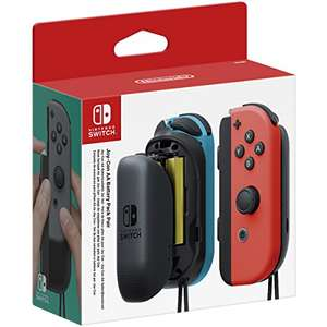 Nintendo Switch Joy-Con AA Battery Pack Accessory Pair £10.97 Prime (£12.96 non prime) @ Amazon