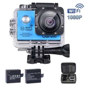 Wifi Underwater Action Camera 1080P £28.99 (Down from £45.99) Sold by Super AutoCam and Fulfilled by Amazon