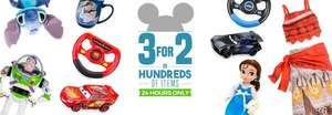 3 for 2 at disney Store for 24 hours