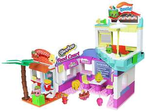 Shopkins Deluxe Food Court Building Set £12.98 + £1.99 delivery - Groupon (£25 at amazon)