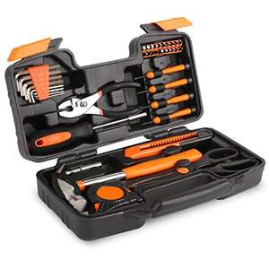 Decent 39 PC tool set for £11.89 on lightning deal Sold by airring and Fulfilled by Amazon