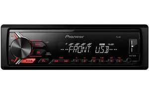 Pioneer MVH-190UB Car Stereo £39 at Halfords, Free C&C
