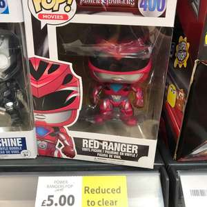 Power Rangers Pop! Vinyl figures £5 in store @ Tesco