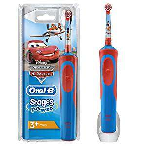 Disney Cars and Planes Oral-B Stages Power Kids Electric Toothbrush £8.75 Prime / £13.50 Non Prime @ Amazon