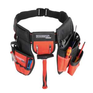 Powerfix Profi Tool Belt or Tool Belt Attachments (No tools) £3.99 @ Lidl