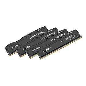 [Amazon.de] HyperX FURY 32GB (4x8GB) 2133MHz DDR4 CL14 £156