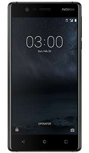 Nokia 3 at £89 when you purchase with £10 bundle @ Vodafone