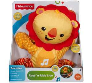 Fisher-Price Roar and Ride lion for £5.99 (£12+ elsewhere) @ Argos