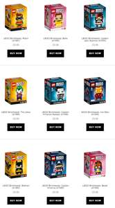 Free Lego Brick Heads (£10) via Quicdo Cashback with IWOOT - New customers