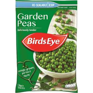 Birds Eye Field Fresh Garden Peas (1.3Kg) was £3.00 now £2.00 (Rollback Deal) @ Asda