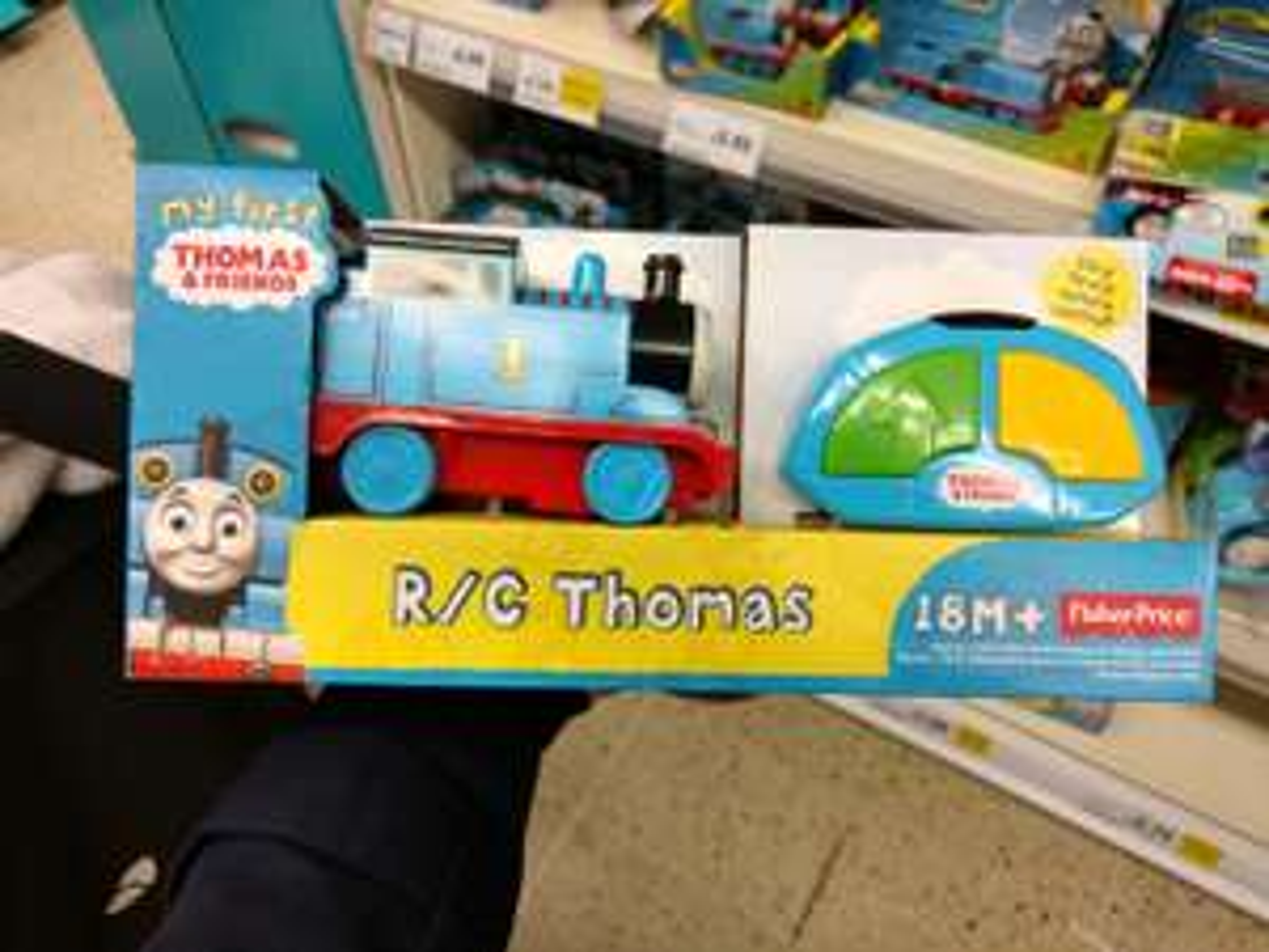 RC Thomas The Tank Engine RTC - £5.75 instore @ Tesco