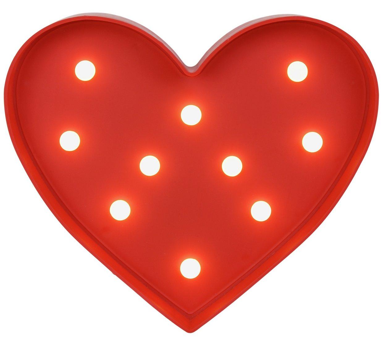 Heart Light £3.99 @ Argos Free C&C