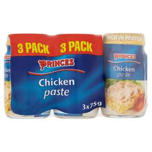 Princes Chicken Paste (3 x 75g) ONLY £1.00 @ Iceland