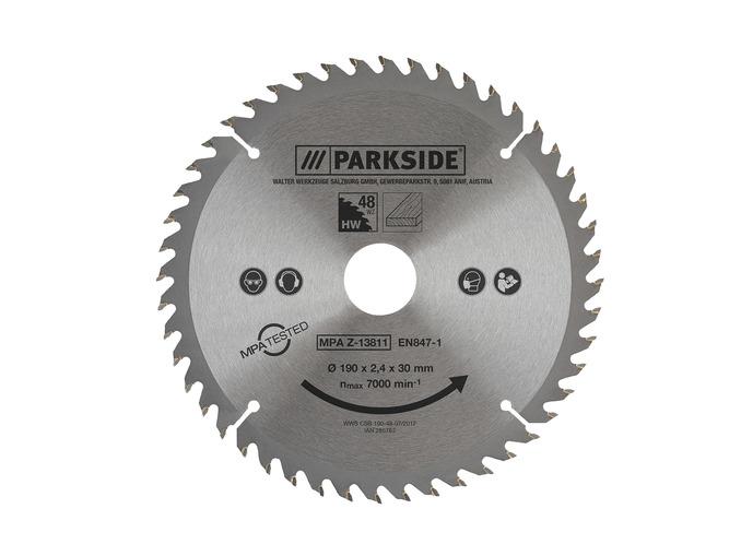 Parkside Circular Saw Blade various diameters & teeth - from £3.99 @ LIDL