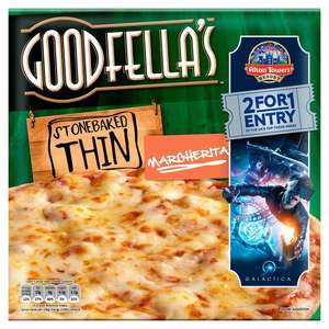 Free! Goodfella's Stonebaked Thin Pizzas - with Printable Voucher £1 @ Tesco