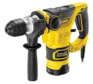 Stanley 1250K SDS Plus Pneumatic Hammer Drill 1250 W by Stanley ONLY £133.73 @ Amazon & FREE Delivery in the UK.