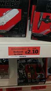 Star Wars The Force Awakens Black Series Vehicles - £2.10 - Sainsburys Instore