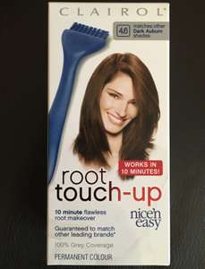 PRICE GLITCH - FREE Clairol Nice n Easy Root Touch Up: Dark Auburn at Boots.com