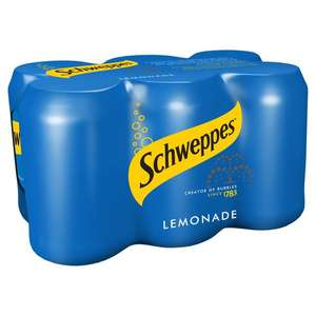 Schweppes Original Lemonade (6 x 330ml) was £2.96 now £1.50 (25p a can) @ Morrisons