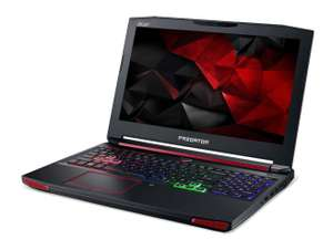 "10% off Acer Predator 15 G9-592 - 15.6"" - Core i5 6300HQ - GTX 970m 6GB - 8GB DDR4 RAM - 128GB SSD + 1000GB 7200RPM HDD £764.97 @ Save On Laptops"