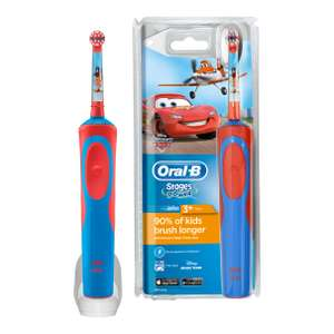 Oral B Stages Age Electric Toothbrush (Disney CARS only) £8.75 @ Waitrose
