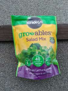 Home Bargains Miracle-Gro Growables Salad Mix 250g 99p