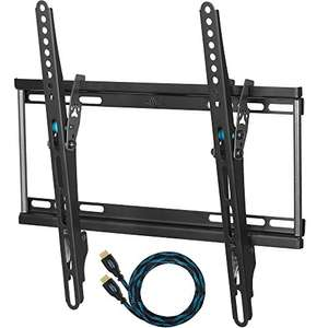 CHEETAH  TV Wall Mount ( TILTED  or FLAT) 32-55 inch - free HDMI cable & spirit level - £9.96 prime or £14.71 non prime Sold by SPN Imports and Services LLC and Fulfilled by Amazon.