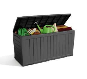 Keter Wood Effect Garden Storage Box - Grey @ Argos - £27.59 (C&C)