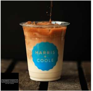 A free drink from Harris + Hoole via O2 Priority