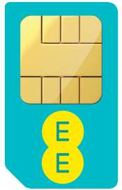EE SIM Only 2GB for £6, 3GB for £7 and 5GB for £9.50 monthly x 12 months = £114 via e2save