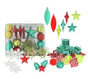 48 Piece Festive Fun Bauble Pack - £1.49 @ Argos