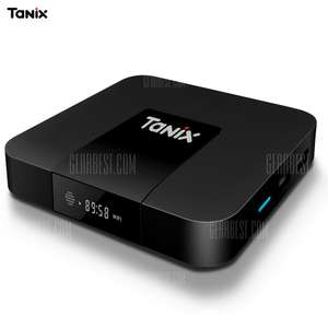 Tanix TX3 Mini TV Box  -  2GB RAM + 16GB ROM AMLogic S905w HDMI 1.4 only - £24.70 @ Gearbest