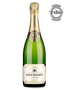 Louis Chaurey Champagne Half Price + Save 25% on 2 Cases of 6 =  £12.75 per Bottle total £153 Del @ M&S
