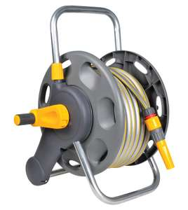 Hozelock 60m 2 in 1 Hose Reel with 25m Hose £32 Del @ Amazon (used like new £26.18 del).