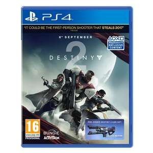 Pre-Order Destiny 2 PS4 / XBO for £40.99 with code @ Smyths Toys