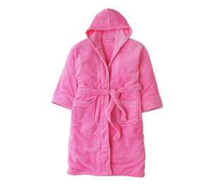 Pretty Pink Adult Fleece Robe £5.99 C+C @ Argos