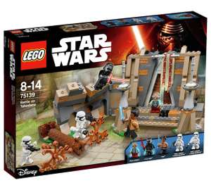 LEGO Star Wars Battle on Takodana £20 Argos rrp £54.99 (+ free Lego Batman keyring )