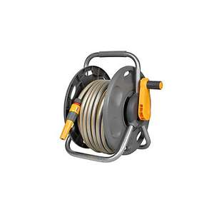 HOZELOCK 2 IN 1 FREESTANDING HOSE REEL & HOSE (L)25M £23 @ B&Q Online. Free Click & Collect. £28 in-store