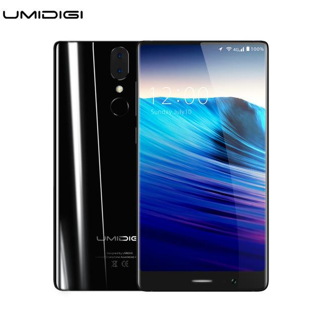 Umidigi Crystal Borderless Smartpone MTK6750T Octa-core 4GB RAM 64GB ROM Metal Bezel-less £108.95 aliexpress / MI DIGI Store